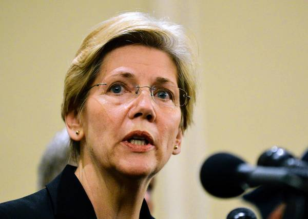 Sen. Elizabeth Warren's tough interrogation of regulators has delighted liberals.