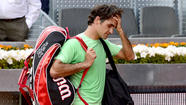 Second-ranked Roger Federer lost to Kei Nishikori, 6-4, 1-6, 6-2, in the third round of the Madrid Open on Thursday, leaving Rafael Nadal as the clear title favorite.