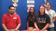 RAW VIDEO: Athletes of the Week Brawley Union High School relay swim team