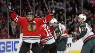 It wasn't the easiest regular season for Patrick Sharp, but the Chicago Blackhawks winger is making the most of the playoffs.