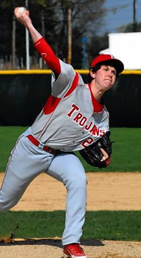Parkland pitcher Tyler Duff helped the Trojans land the No. 1 seed for next week's LVC baseball tournament.