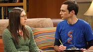 "UPDATED: Love was the ticket to the top of the local and national ratings for ""The Big Bang Theory"" Thursday night."