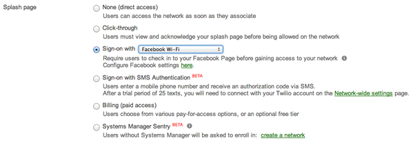 "Facebook has teamed up with Cisco to let retail customers log in to businesses' Wi-Fi networks by ""checking in."""