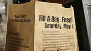 Stamp Out Hunger is taking place Saturday -- that's what that brown paper bag in your mailbox was all about!