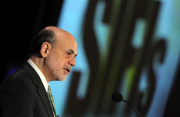 Federal Reserve Chairman Ben Bernanke speaks at the 49th Annual Conference on Bank Structure and Competition at the Marriott Hotel.