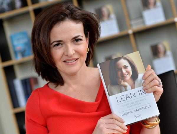 "Sheryl Sandberg, chief operating officer of Facebook, wrote ""Lean in: Women, Work and the Will to Lead."""