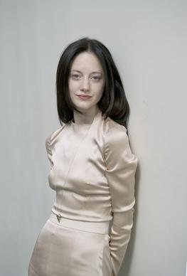 "Actress Andrea Riseborough stars as Victoria in the 2013 blockbuster ""Oblivion."""