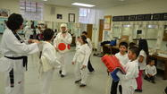 Gear For Goals partners with Working Together to provide Tae Kwon Do Equipment for children seeking to learn self-defense and pride