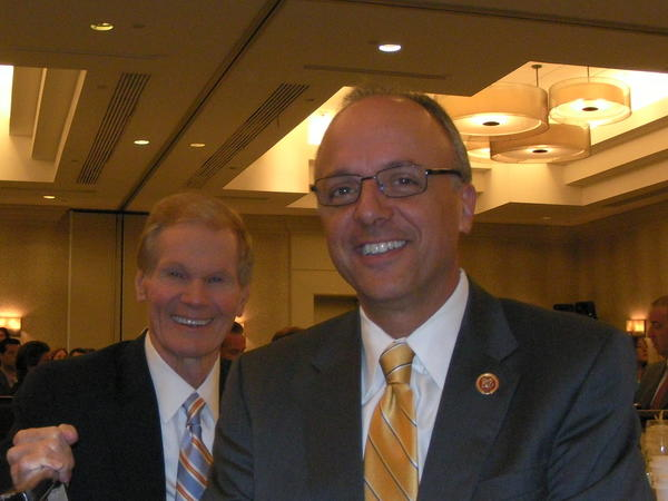 U.S. Sen. Bill Nelson (left) and U.S. Rep. Ted Deutch.