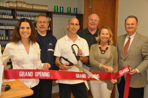 The Winnetka-Northfield Chamber of Commerce held a new business ribbon cutting for 