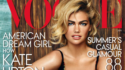 Kate Upton lands Vogue cover, talks famous curves