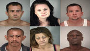 The Lake County Sheriff's Office arrested six people during a bust of a methamphetamine lab last night in the Dona Vista neighborhood south of Umatilla.