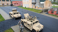 PHOTOS: Guard and Reserve members demonstrate combat scenario