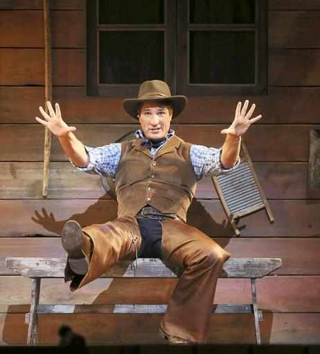 "John Cudia  as Curly in ""Oklahoma!"""