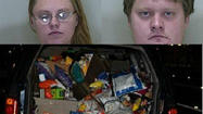 A brother and sister accused of stealing a van load of snacks from a Frito-Lay plant in Ocala tried to chip away at the allegations with an exceptional excuse: They told deputies they found the chips while dipping into a dumpster.