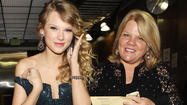 Taylor's Mom is a Fan-Favorite on the Road