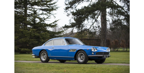 This 1965 Ferrari 330GT was the first car Beatle John Lennon ever owned. Bonhams will auction it in July, and expects the car to sell for between $276,000 and $338,000.