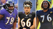 Over the last couple of weeks, the Ravens have added and retained seven offensive linemen, further complicating what figures to be one of the more competitive -- if not interesting -- position battles in training camp.