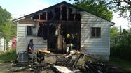 Members of a Hampton family have been displaced from their home after a Friday afternoon fire.