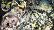 Photos: 14-inversion Smiler coaster at Alton Towers