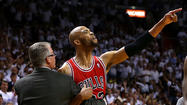 Chicago Bulls forward Taj Gibson has been fined $25,000 for his outburst at a referee, and New York Knicks guard J.R. Smith has been penalized $5,000 for flopping, the NBA announced Friday.