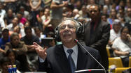 MEXICO CITY -- Efrain Rios Montt, the former Guatemalan military dictator who ruled his country during one of the bloodiest phases of its civil war, was found guilty of genocide and crimes against humanity Friday for the systematic massacre and displacement of ethnic Mayan people. He was sentenced to 80 years in prison.