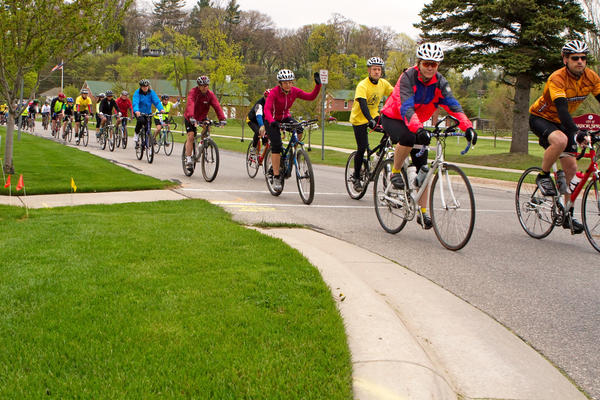 The annual Ride of Silence in Boyne City and Harbor Springs draws many devoted cyclists to participate in solidarity to remember those injured or killed while riding along roads.