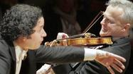 Review: Dudamel keeps things light in Bach, Mozart and Mendelssohn