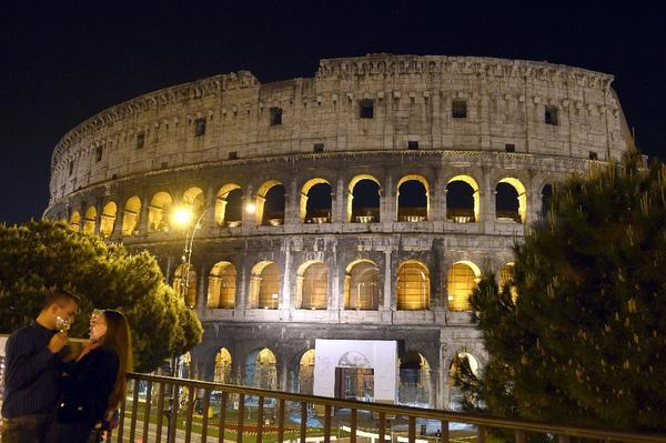 Visitors can get a new view of Rome at night on Tourcrafters' Rome Midnight Dream package.