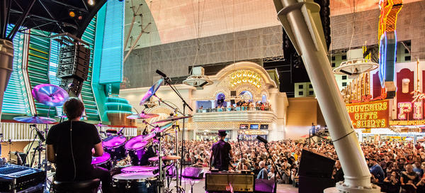 "The band Asia, featuring John Payne, performs during the 2012 ""Rock of Vegas"" summer concert series at Fremont Street Experience. The free series returns Sunday."