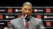 New Rutgers basketball Coach Eddie Jordan was brought in to lead the university out of the embarrassment of the Mike Rice scandal, but controversy continues after the school's athletic department's website inaccurately declared Jordan had earned a degree from the institution.