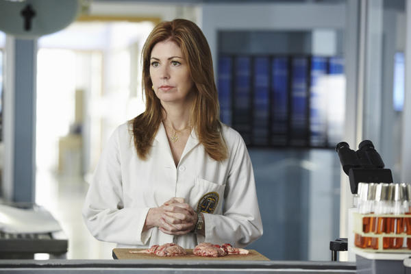 "Dana Delany in a scene from ""Body of Proof."""