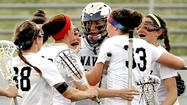 Navy women's lacrosse notches 'historic' NCAA tournament win over Monmouth