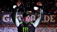 Kyle Busch kept it simple Friday night at Darlington Raceway.