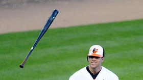 Chris Davis is a man on fire
