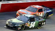 Kyle Busch wins Nationwide race, Kurt Busch Sprint Cup wins pole