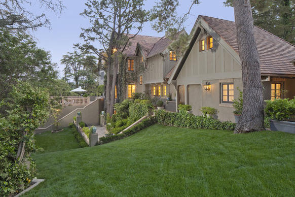 The English country-style home was built in 1928 as a winter retreat.