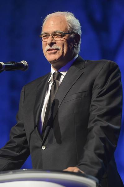 Phil Jackson speaks at the Children's Hospital Los Angeles Gala: Noche de Ninos at L.A.