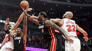 In the last two games of these Eastern Conference semifinals, the Heat have shot 60 and 50 percent from the field.