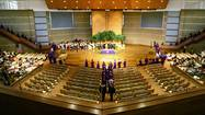 WASHINGTON — Can a public high school hold its graduation ceremony in a local church?