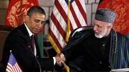 U.S., Afghan diplomats work toward long-term agreement