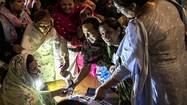 Pakistanis vote in landmark election
