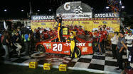 DARLINGTON, S.C. -- Matt Kenseth would never have believed he would fulfill a lifelong dream Saturday night by winning the Southern 500 at Darlington Raceway. But that is exactly what he did.