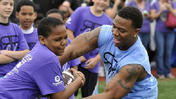 2nd Annual Ray Rice Day football camp [Video]