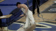 <strong>C.J. Patton</strong> thought his pommel horse routine Saturday night was better than his 9.7 performance in the preliminary round earlier in the day.