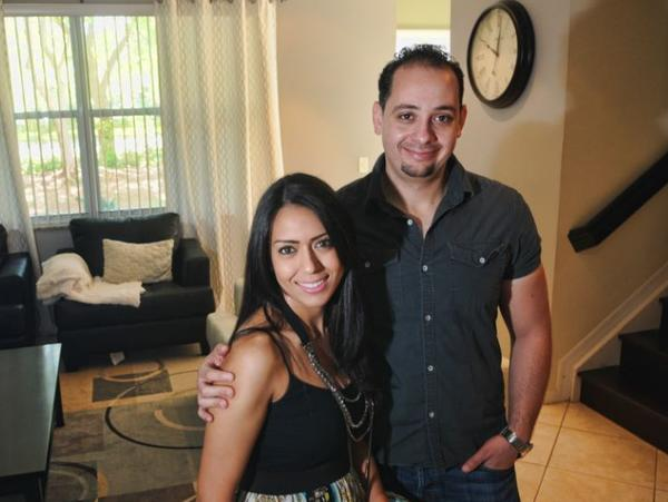 Ashraf Abualsuod and his wife Samar Abdel-Jabbar were able to get a mortgage on their Coral Springs home even though they only put down 5 percent.