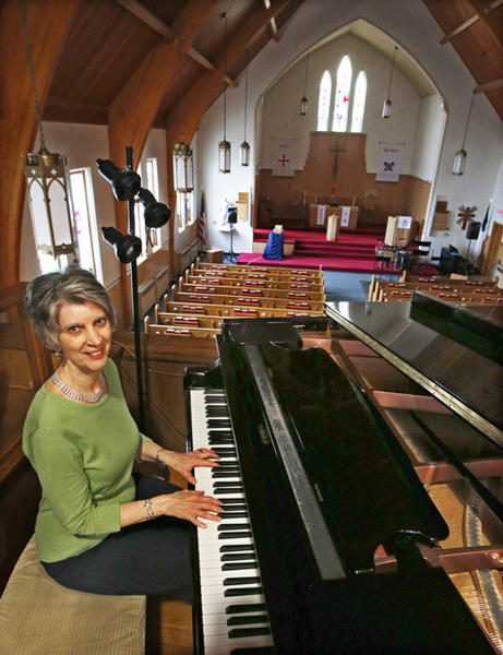 Sue Gates will be honored May 19 for her 25 years of service of playing the piano at Zion Lutheran Church in Aberdeen.