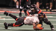 In an Arena Football League game that featured 165 points, the Orlando Predators led once.