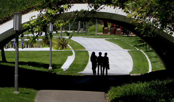 The UC Irvine campus.