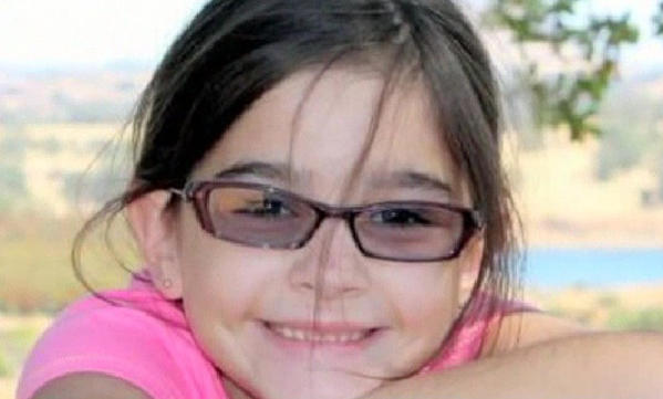 Leila Fowler, 8, was stabbed to death in her family's home in small-town Valley Springs, in Northern California.